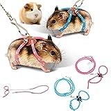 zhuangyulin6 1 PC Hamster Harness Rope, Pet Hamster Harnais,...