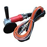 Air Grinder,4-Inch Air Wet Stone Polisher 5500 Rpm with Rear Exhaust,Air-Powered Stone Polisher