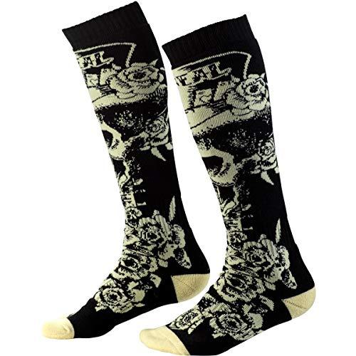 O\'NEAL Pro MX Tophat Socken schwarz/beige Einheitsgröße 2020 Oneal