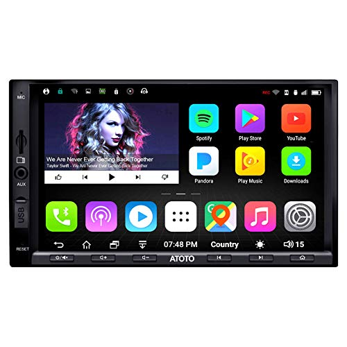 ATOTO A6 Double Din Android Car Navigation Stereo...