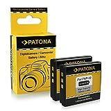2x Batterie Fuji NP-50 | Kodak Klic-7004 | Pentax D-Li68 / D-Li122 pour Fujifilm...