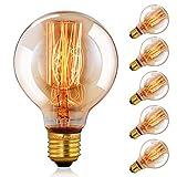 CMYK Ampoule Vintage Edison Standard 60 mm - Ampoule Deco Design Retro...
