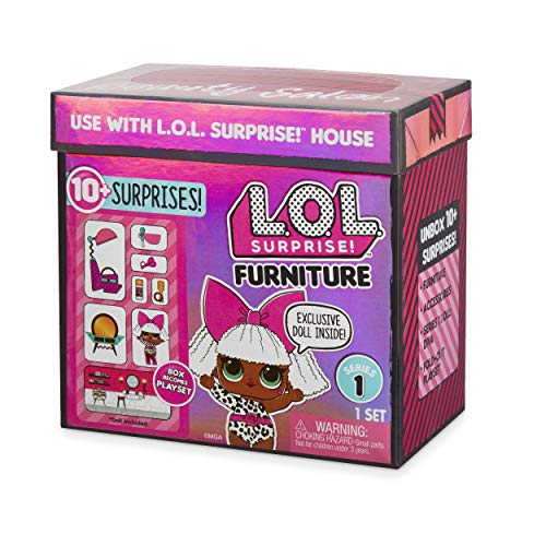 Image 5 - MGA- Meubles L.O.L Salon de beauté avec poupée Diva et 10+ Surprises Toy, 564102E7C, Multicolore