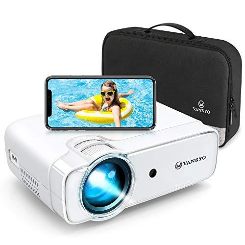 VANKYO Proiettore, Videoproiettore 5000 Lumen con 236' Display, Supporta 1080P, HiFi Speaker, con...