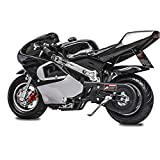 Fit Right 2020 Mini Gas Pocket Bike 02 On 40cc 4 Stroke, Support Up to 165 lbs, EPA Approved,...