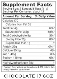 Chocolate-Collagen-Protein-Powder-with-MCT-Oil-19g-Protein-176-Oz-Bulletproof-Collagen-Peptides-and-Amino-Acids-for-Healthy-Skin-Bones-and-Joints