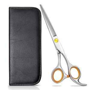 Hair Cutting Scissors, Stainless Steel Hair Scissors Shears Barber Scissors Beard Mustache Scissors 17