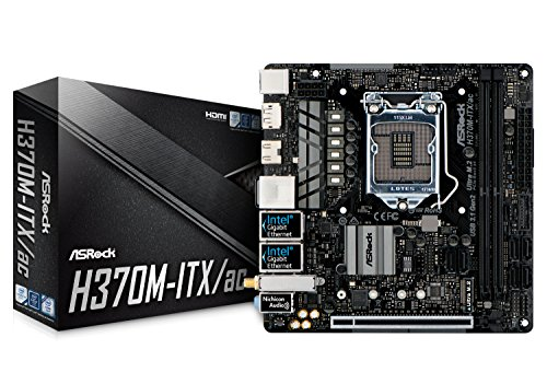 ASRock Intel H370チップセット搭載 Mini-ITXマザーボード H370M-ITX/ac