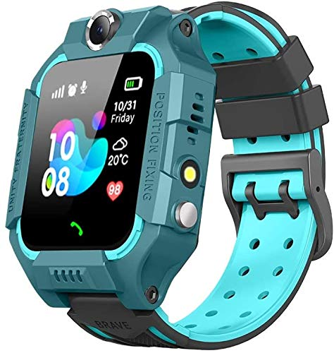 Sanyipace Kids Smart Watches for Girls Boys with GPS Tracker SOS Call...