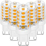 Lampe LED G9 3.5W Ampoules Blanc Chaud Source de Lumière 3000K, 5 Pièces...