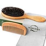Hair Brush Boar Bristle Hair...