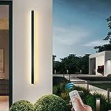 Extérieures LED Terrasse Appliques Avec Télécommande Dimmable, Moderne...
