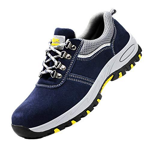 DoGeek Zapato Seguridad Calzado Seguridad Hombre con Punta...