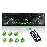 Aigoss Autoradio Bluetooth FM Radio Stéréo 60W x 4, Lecteur MP3 Poste Main...