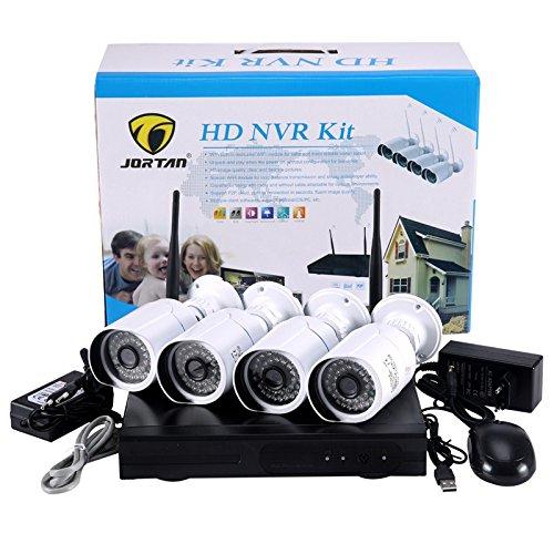 Kit Videosorveglianza Preconfigurato e pronto all'uso (4 Telecamere + DVR + HDD 1 TB)