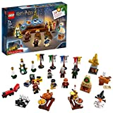 LEGO Calendrier de l'Avent Harry Potter 2019 24 Cadeaux Avant Noël Inclus 7 Figurines Jeux de Construction, 75964