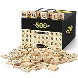 Magicfly Lettre Tuiles en Bois, Puzzle Alphabets A à Z pour Jouer et...