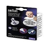 Braun LF40 40 Embouts jetables pour thermomètres auriculaires transparent