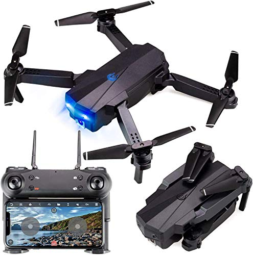 generi Drone con Telecamera ad Alta Definizione HD 1080P Live Video GPS Ritorno Automatico a casa,...