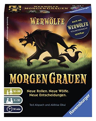 Ravensburger Kartenspiele 26729 - Werwölfe - MorgenGrauen
