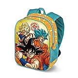 Karactermania Dragon Ball Saiyan 3D - Mochila Infantil, Multicolor, 31 cm