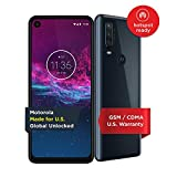 Motorola One Action - Unlocked Smartphone - Global Version - 128GB - Denim Blue (US Warranty) - Verizon, AT&T, T-Mobile, Sprint, Boost, Cricket, Metro