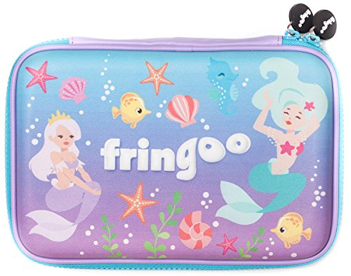 Fringoo Girls Boys Kids Hardtop Pencil Case cute goffrato di grandi dimensioni a scomparti...