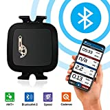 TAOPE Bike Speed Cadence Sensor Ant+ Bluetooth Waterproof for iPhone Android and Bike Computers