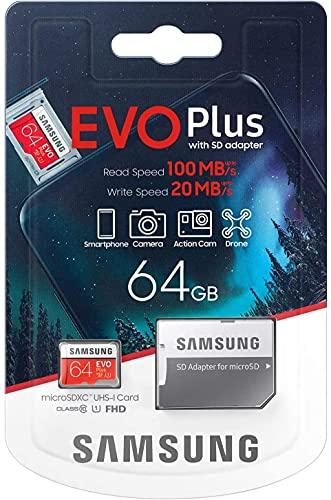 SAMSUNG Evo Plus 2020 Memoria Flash da 64 GB...