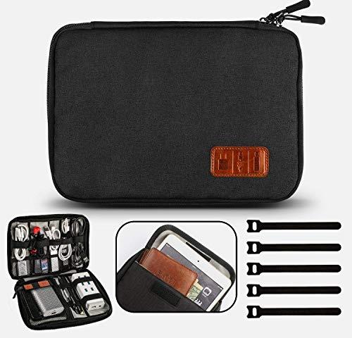 Gibot Câbles Organisateur de Sac Electroniques Portable Pochette Rangement...