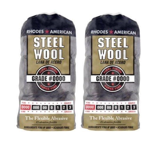 Homax Products #0000 Super Fine Finish Steel Wool Pad 12 Per...