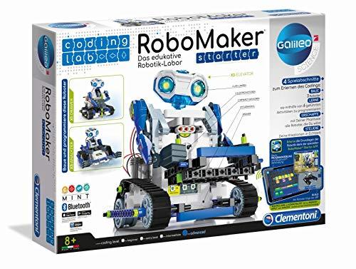 Clementoni- RoboMaker Started Set Robótica infantil, Multicolor,...