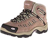 Hi-Tec Women's Bandera Mid Waterproof Hiking Boot,Taupe/Blush,8 M US