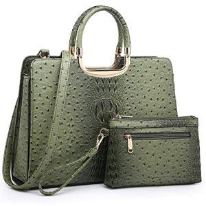 Women's Handbag Top Handle Shoulder Bag Tote Satchel Purse Work Bag with Matching Wallet 10