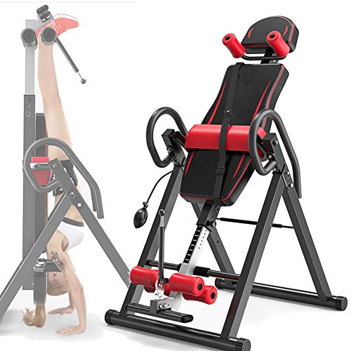 Grist CC Casa Panca Ad Inversione, Professionale Regolabile Attrezzatura per Il Fitness, Robusto...