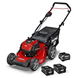 Snapper XD 82V MAX Electric Cordless 19-Inch Lawnmower Kit with (2) 2.0 Batteries & (1)...
