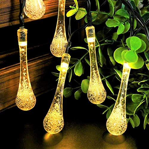 Techno E-Tail 20 LED Waterdrop Decorative String Lights, Diwali Christmas Fairy Lights for Home...