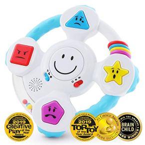 BEST LEARNING giro y rueda de aprendizaje - juguetes educativos e interactivos para niños pequeños y bebés de 6 a 36…