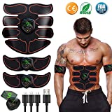 EGEYI Appareil Abdominal, Electrostimulateur Musculaire ABS Trainer EMS...