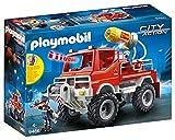 Playmobil - 4x4 de pompier avec lance-eau - 9466