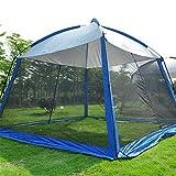 ZXCVBW Nouvelle arrivée 5-8 Personnes Utiliser 330 * 330 * 245cm avec moustiquaire Tente de Camping...