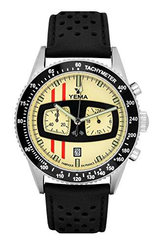 Orologio uomorallygrafPelle Nero grain42mm10barymhf1481