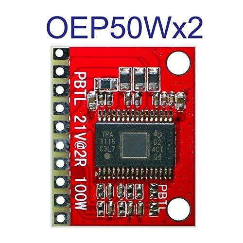 DHRUV-PRO OEP50Wx2 50W+50W Audio Module digital power amplifier board LCD Class D Digital Stereo Dual Channel Audio Power Amplifier Board