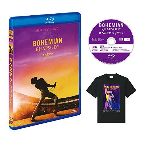 【Amazon.co.jp限定】ボヘミアン・ラプソディ 2枚組ブルーレイ&DVD (特典映像ディスク&オリジナルTシャツ付...