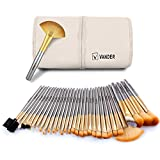 Makeup Brushes - VANDER Professional 32 Piece Makeup Brushes Set Essential Cosmetics With Bag