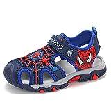 XINGXING Garçons Spiderman Sandales Enfants randonnée en Plein air Sandale Sport athlétique...