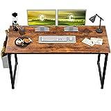 CubiCubi Study Computer Desk 55' Home Office Writing Small Desk,...