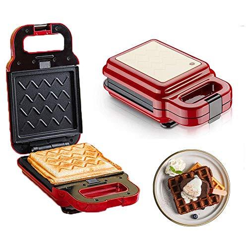 BZZBZZ Mini tostapane, cialde Multifunzione Macchina per Alimenti Leggeri - Riempimento Profondo...