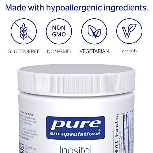 Pure Encapsulations - Inositol (Powder) - Hypoallergenic Supplement Supports Healthy Mood, Emotional Wellness and Behavior, and Ovarian Function - 8.8 Ounces 3