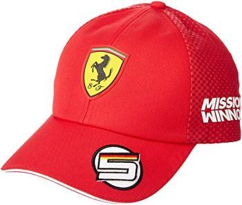 Puma Ferrari Replica Vettel Baseballcap Rosso Corsa Adult